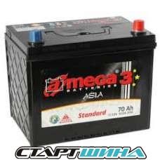 Аккумулятор A-mega Standart 3 Asia 70e