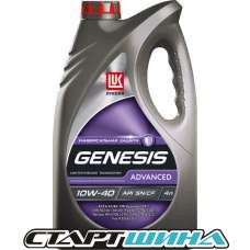 Моторное масло Лукойл GENESIS ADVANCED 10W-40 4л