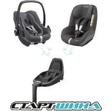 Автокресло Maxi-Cosi 2wayFamily Concept (Sparkling Grey)