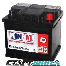 Аккумулятор MONBAT  50Ah (низкий)