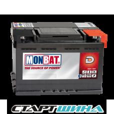 Аккумулятор MONBAT  62Ah (низкий)