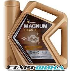 Моторное масло Роснефть Magnum Cleantec 10W-40 5л