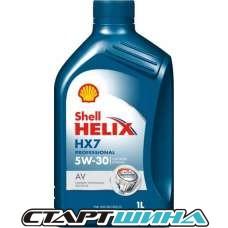 Моторное масло Shell Helix HX7 5W-30 1л