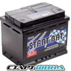Аккумулятор 12V СтартБат 6СТ-45 е